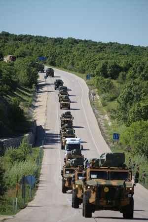 Mehmetçik NATO tatbikatına törenle uğurlandı