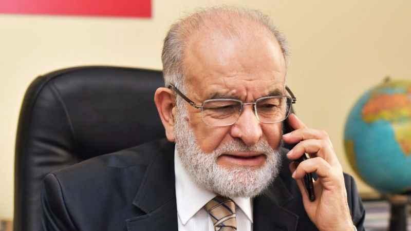 Temel Karamollaoğlu, Meclis Başkanı Şentop ile görüştü