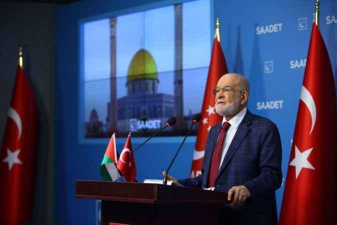 Temel Karamollaoğlu'ndan çağrı: İsrail güçten anlar harekete geçin