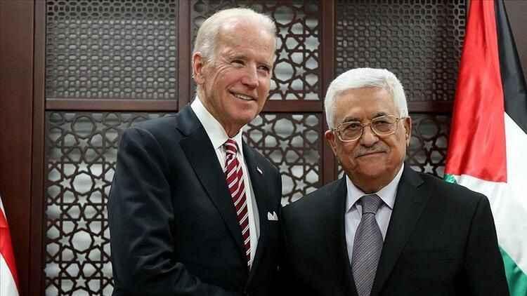 Biden, Abbas'a flaş mesaj gönderdi!