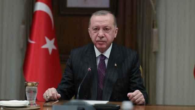 Erdoğan, Malezya Kralı ve Katar Emiri ile Filistin'i görüştü