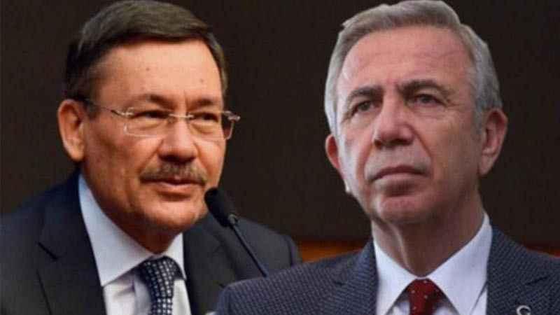 Ankara Büyükşehir Belediyesi'nden Melih Gökçek'e Mossad göndermesi