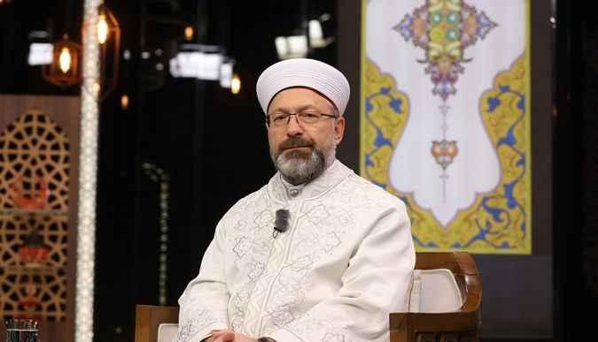 Diyanet İşleri Başkanı Erbaş: Camilerde bayram namazımızı kılacağız