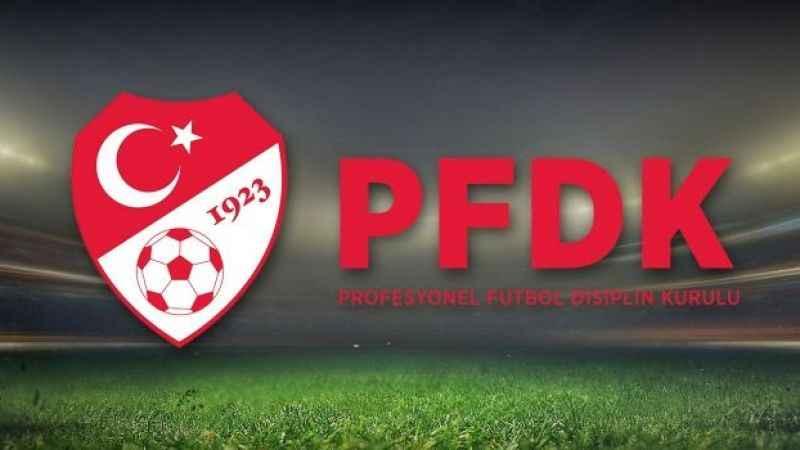 PFDK sevkleri açıklandı: Beşiktaş'tan 5 isim...