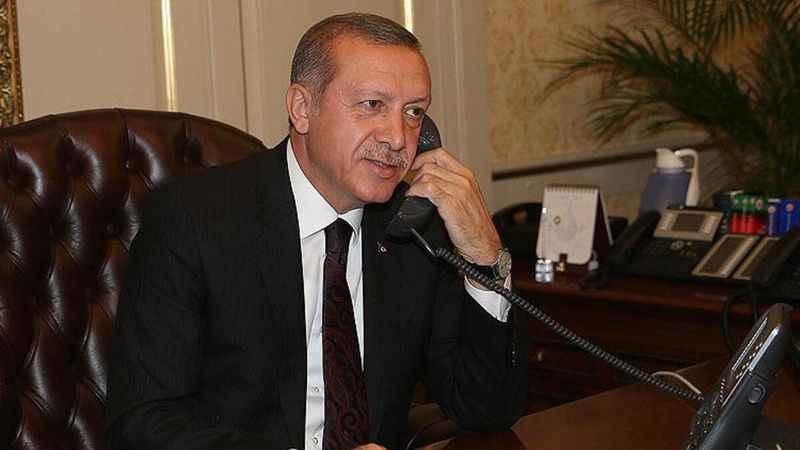 Cumhurbaşkanı Erdoğan, Kırgız mevkidaşı Caparov ile Filistin'i görüştü