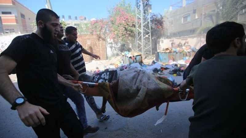 İsrail'in Gazze Şeridi saldırılarında şehit sayısı 103'e yükseldi