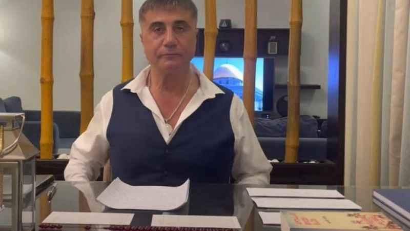 """Sedat Peker'den flaş Soylu iddiası: """"Tayip ağabeyin altını oyuyor"""""""