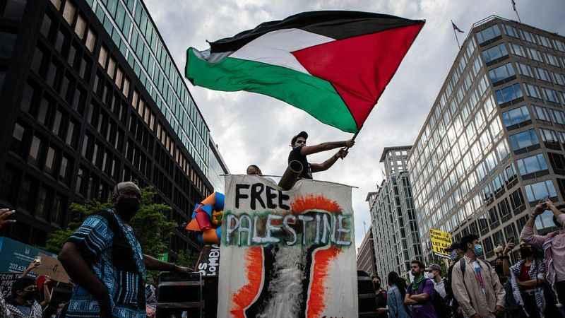 "ABD'de Filistin'e destek bile suç oldu! ""Free Palestine""e soruşturma"