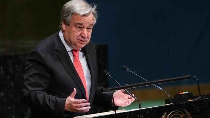 BM Genel Sekreteri Guterres Gazze açıklaması
