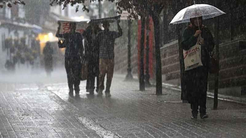 Meteoroloji uyardı: Gök gürültülü sağanak yağışa dikkat