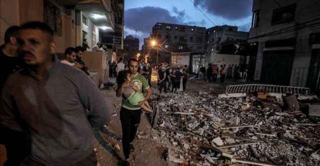 Gazze'de korkunç saldırı: 3 şehit daha