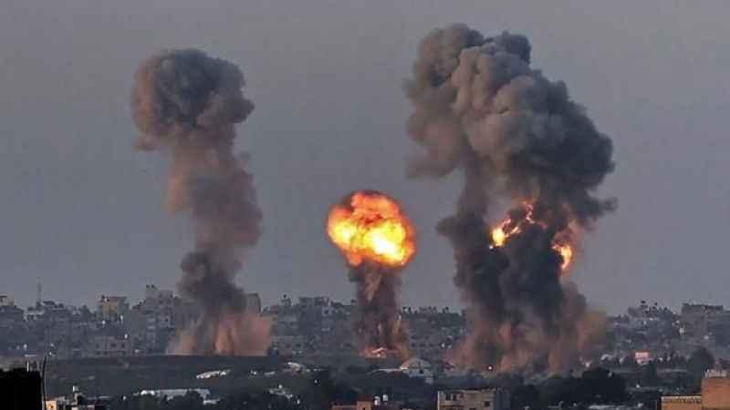 İşgalcilerin Gazze'ye düzenlediği saldırıda 10 kişi daha şehit oldu