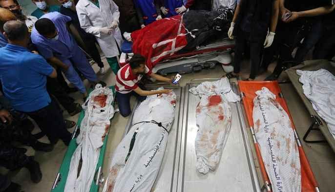 İşgalci İsrail rejimi uçakları Gazze'ye yeni bir saldırı başlattı