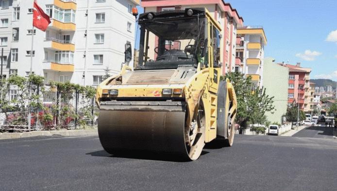 Kartal Belediyesi, Soğanlık'ta asfalt çalışmalarını tamamladı