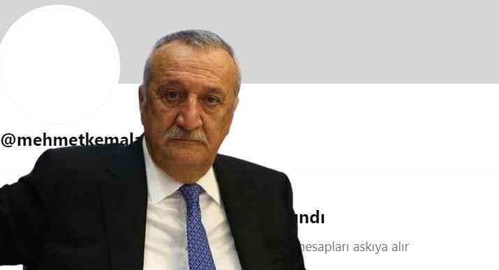 Twitter, 'Mehmet Kemal Ağar' hesabını askıya aldı