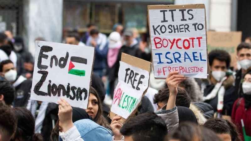 Avrupa'dan İsrail'e destek! Filistin'e destek gösterisi yasaklandı