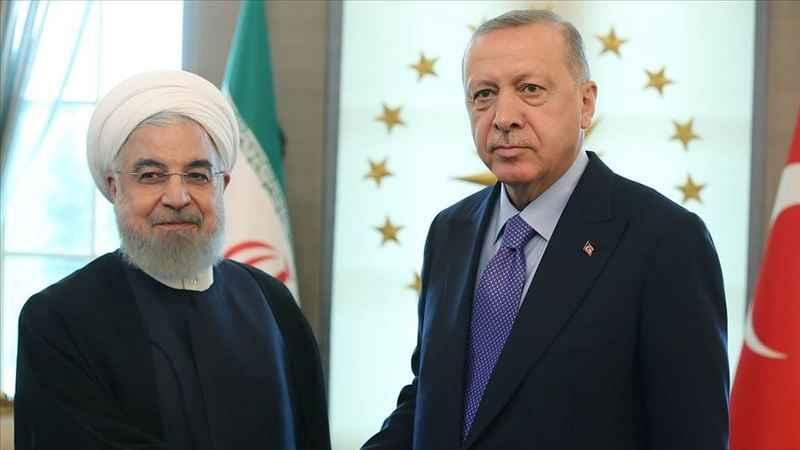 Erdoğan, Ruhani'yle konuştu