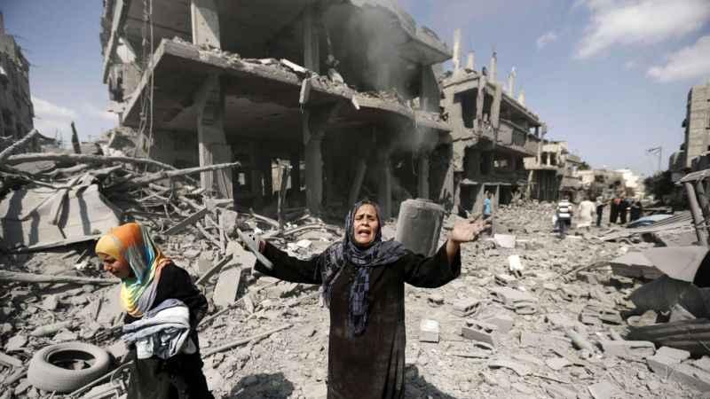 Filistin Dışişleri Bakanı açıkladı! 10 binden fazla kişi yerinden oldu