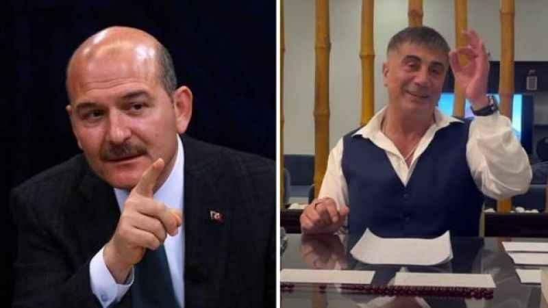 Soylu o gazeteyi hedef aldı Sedat Peker'e de Bir mafya pisliği dedi
