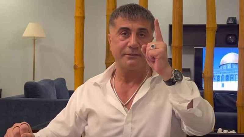Sedat Peker'den, Cüneyt Özdemir'in canlı yayınına mesaj!