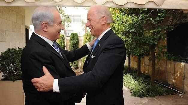 ABD Başkanı Biden, Siyonist lider Netanyahu ile görüştü