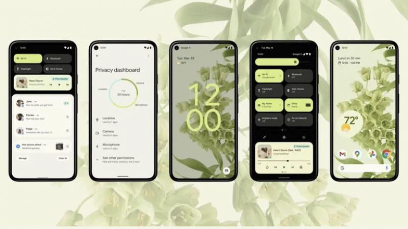 Bu telefonlar Android 12'yi şimdiden aldı!