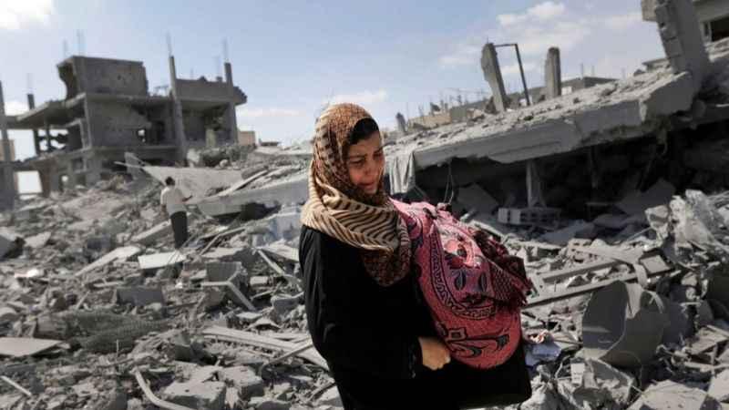 BM açıkladı! Gazze'de 75 bin Filistinli yerinden edildi