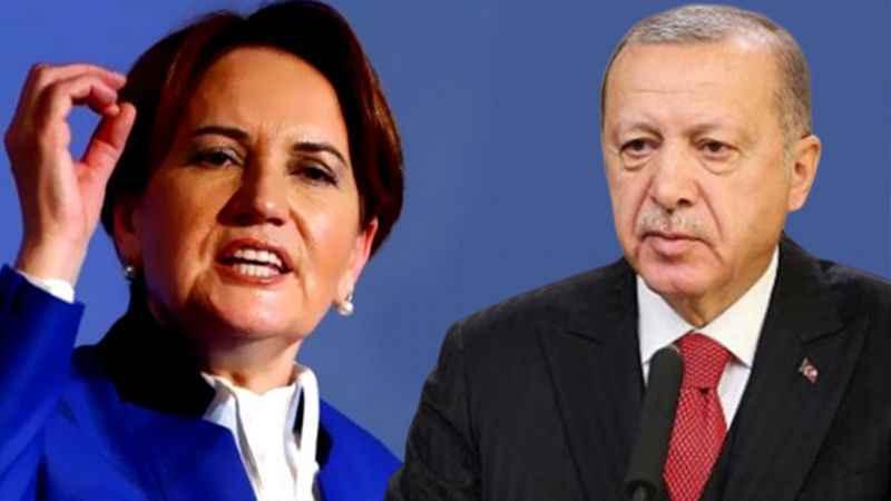 Akşener'den Erdoğan'a tepki: Zavallılık, gideceğim deyip gitmemektir