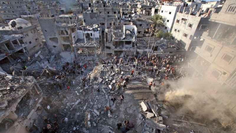 Gazze'de bilanço netleşiyor! Siyonist saldırıda 1800 konut zarar gördü