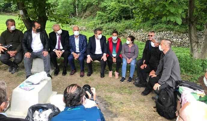 Gelecek Partisi heyetinden İkizdere'ye ziyaret: Kaybedecekler