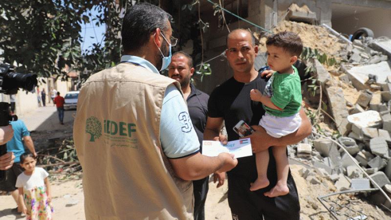 İDDEF'ten Gazze'ye 11 milyon TL acil yardım desteği