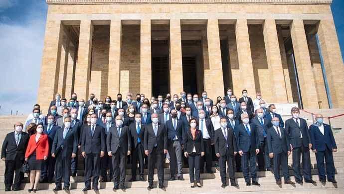 Memleket Partisi Kurucular Kurulu, Anıtkabir'i ziyaret etti