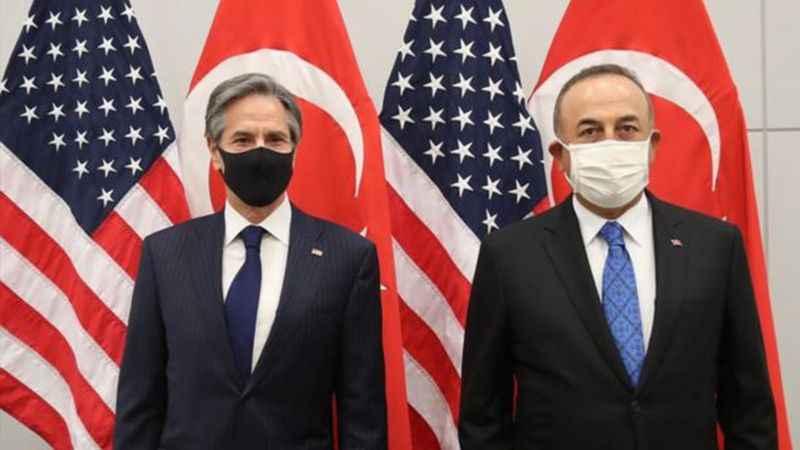 Bakan Çavuşoğlu, ABD'li mevkidaşı Blinken ile görüştü
