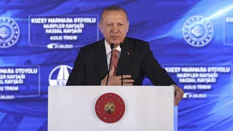 Cumhurbaşkanı Erdoğan'dan flaş anayasa açıklaması