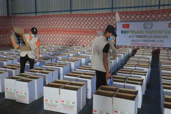 İHH'dan Filistin'e acil yardım
