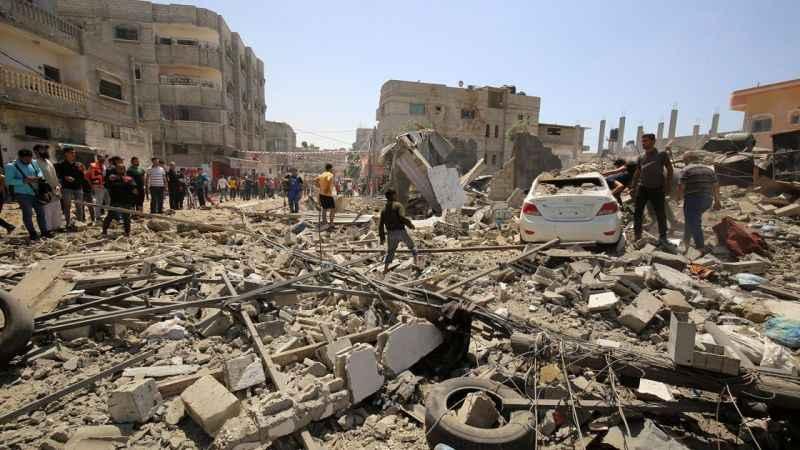 İsrail'in Gazze katliamının bilançosu! 232 şehit, 1800 harabe bina