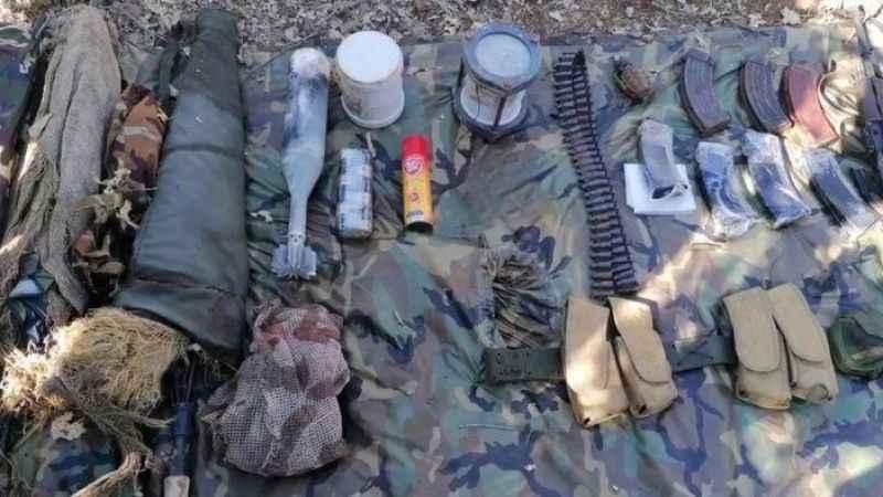 MSB: PKK'ya ait silah ve mühimmat ele geçirildi