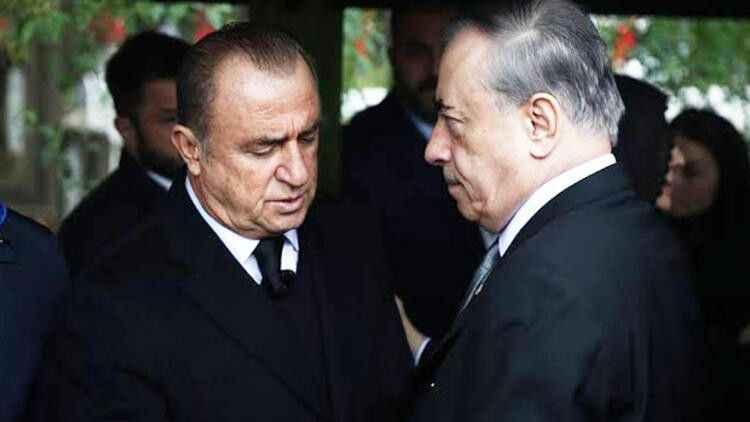 Fatih Terim'den Mustafa Cengiz'e sert yanıt: Acil şifalar diliyordum