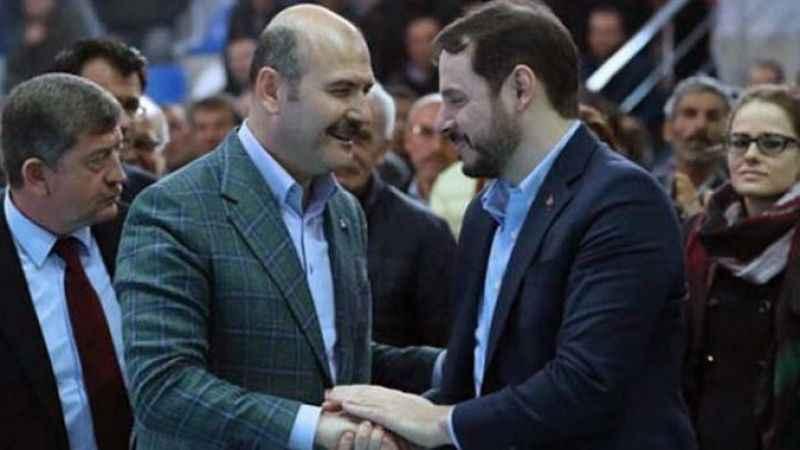 Berat Albayrak cephesi Süleyman Soylu'ya önem vermedi!