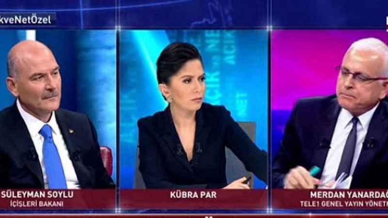Merdan Yanardağ'dan Süleyman Soylu yayını hakkında yorum!