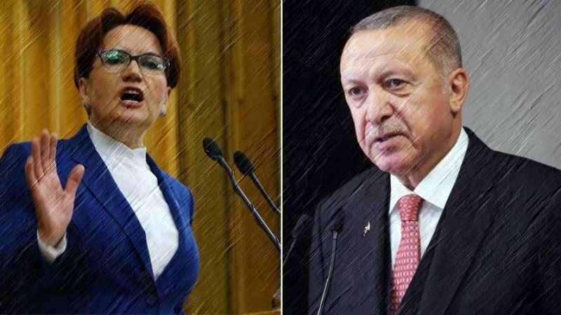 Akşener'den kendisini tehlikeli sözlerle hedef alan Erdoğan'a cevap