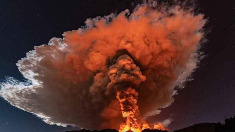 Kongo'da yanardağ felaketi! Binlerce kişi evsiz kaldı