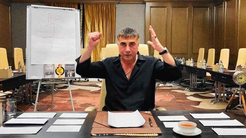 """Sedat Peker'den şifreli mesaj: """"Şansınızı zorlamayın!"""""""