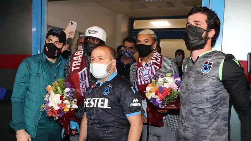 Trabzonspor, Bruno Peres ve Gervinho'yu KAP'a bildirdi!