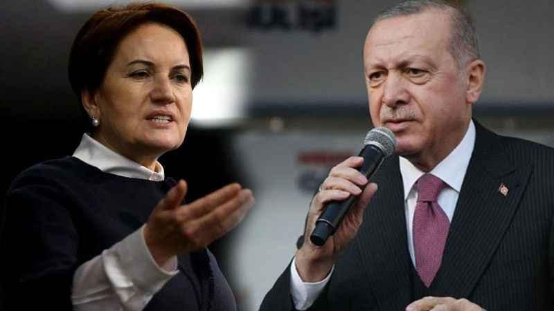 Akşener'den Erdoğan'a yanıt geldi: Kadim devlet geleneğine yakışmaz