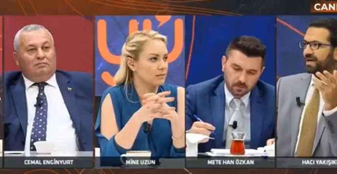 """Cemal Enginyurt'un Akit yazarına verdiği """"Ak Türkçe"""" cevabı olay oldu"""