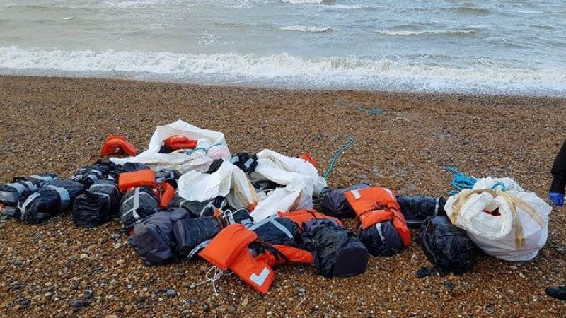 İngiltere'de bir sahile 960 Kilo kokain vurdu!
