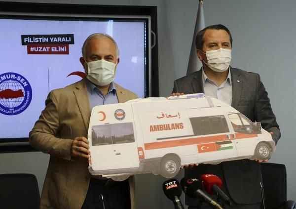 Gazze'ye Memur-Sen'den tam teşekküllü ambulans
