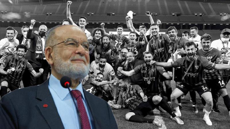 Saadet Partisi Genel Başkanı Karamollaoğlu'ndan Kocaelispor'a tebrik