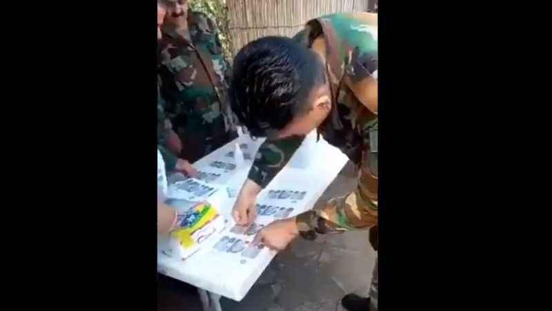 Suriye'de seçim skandalı! Esad'ın askerleri seçmeni yormadı!
